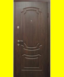 Входные двери VIP Классика темный орех