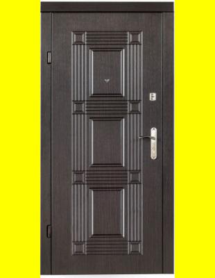 Входные двери недорого Квадро венге