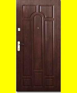 Входные двери Арка Темный орех