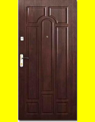 Входные двери недорого Арка Темный орех эконом