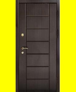 Входные двери VIP Канзас венге