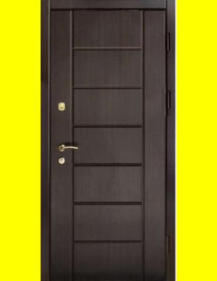 Входные двери недорого VIP Канзас венге