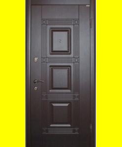 Входные двери VIP Квадро венге